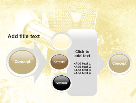 Knight Sword PowerPoint Template Slide 17