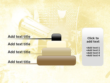 Knight Sword PowerPoint Template Slide 8