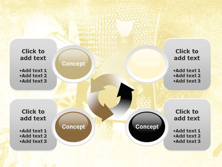 Knight Sword PowerPoint Template Slide 9