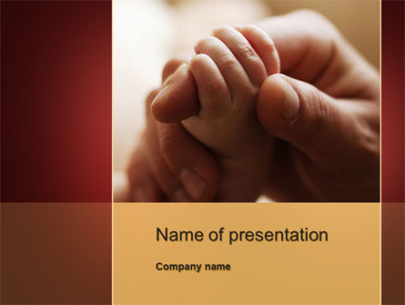 Religious/Spiritual: Tenderness PowerPoint Template #10120