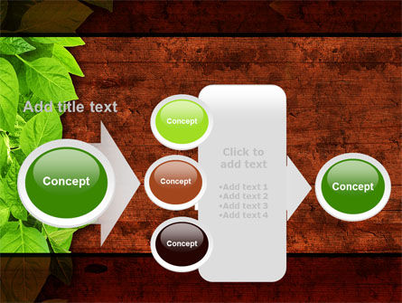 Wooden Surface PowerPoint Template Slide 17