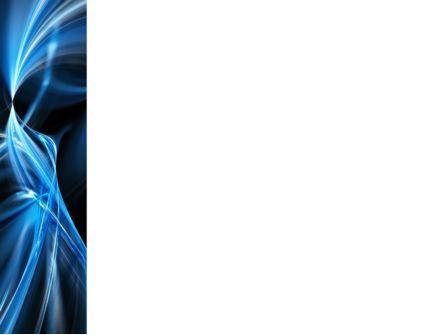 Blue Curves PowerPoint Template, Slide 3, 10122, Abstract/Textures — PoweredTemplate.com
