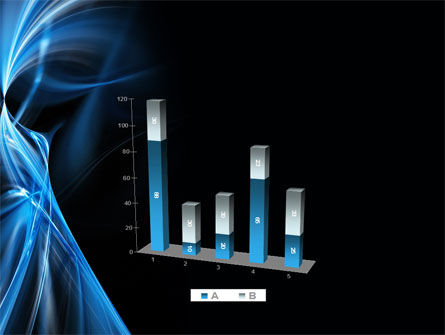 Blue Curves PowerPoint Template Slide 17