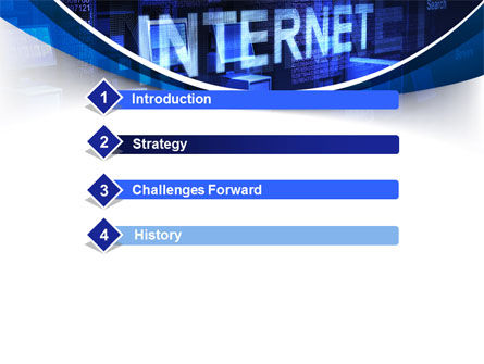 Internet Network PowerPoint Template, Slide 3, 10126, Technology and Science — PoweredTemplate.com