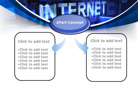 Internet Network PowerPoint Template, Slide 4, 10126, Technology and Science — PoweredTemplate.com