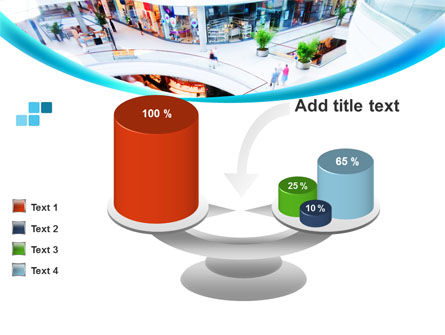 Shopping Mall PowerPoint Template Slide 10