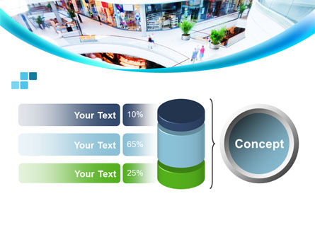 Shopping Mall PowerPoint Template Slide 11