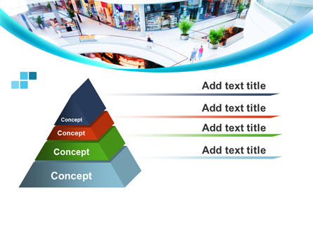 Shopping Mall PowerPoint Template Slide 12