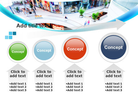 Shopping Mall PowerPoint Template Slide 13