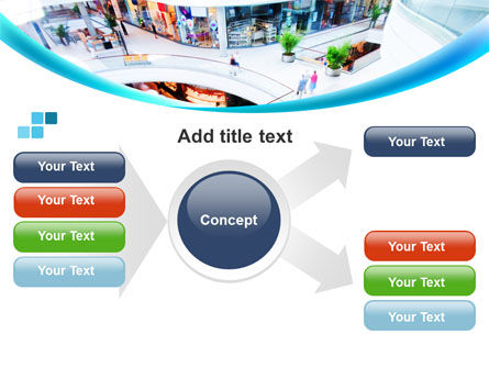 Shopping Mall PowerPoint Template Slide 14