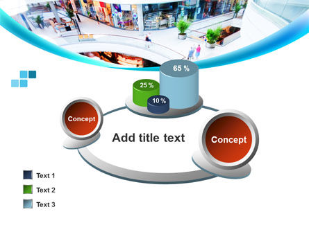 Shopping Mall PowerPoint Template Slide 16