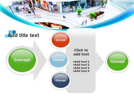 Shopping Mall PowerPoint Template Slide 17