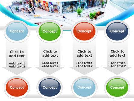 Shopping Mall PowerPoint Template Slide 18