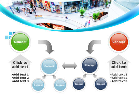 Shopping Mall PowerPoint Template Slide 19