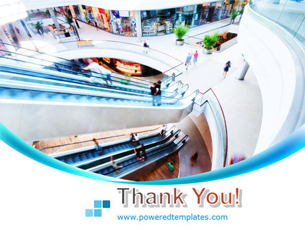 Shopping Mall PowerPoint Template Slide 20