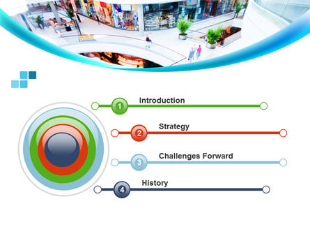 Shopping Mall PowerPoint Template Slide 3