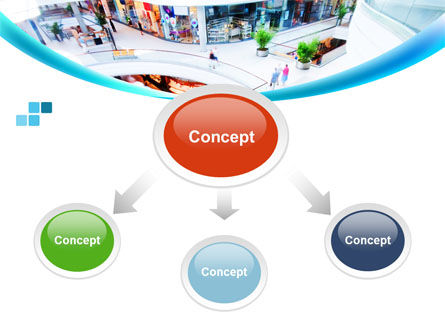 Shopping Mall PowerPoint Template, Slide 4, 10128, Careers/Industry — PoweredTemplate.com