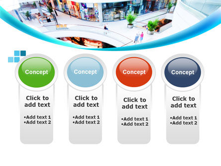 Shopping Mall PowerPoint Template Slide 5