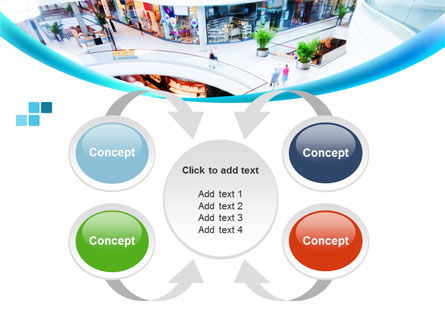 Shopping Mall PowerPoint Template Slide 6