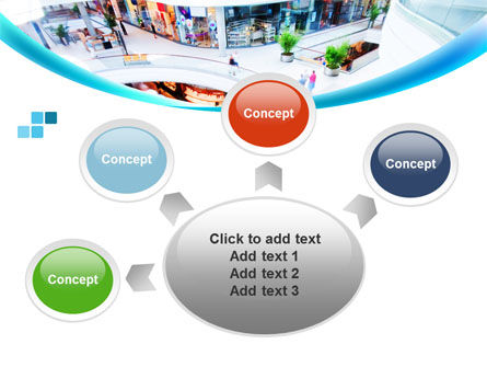 Shopping Mall PowerPoint Template Slide 7