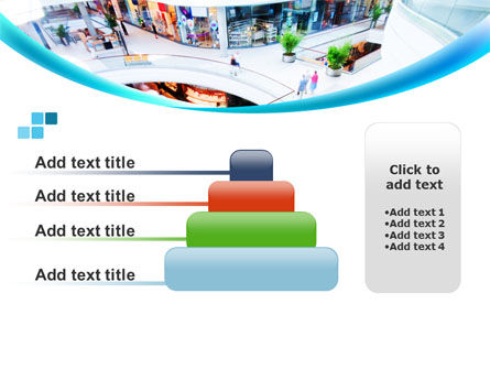 Shopping Mall PowerPoint Template Slide 8