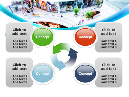 Shopping Mall PowerPoint Template Slide 9