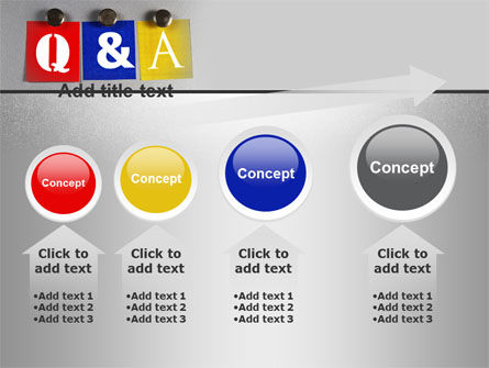 questions and answers powerpoint template backgrounds