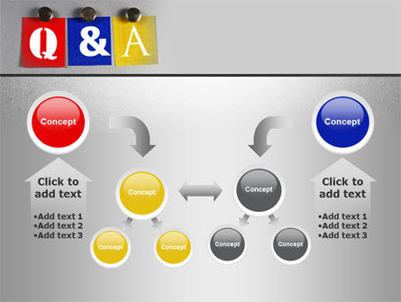 Questions and Answers PowerPoint Template Slide 19