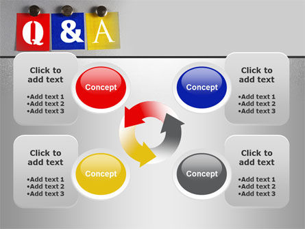 Questions and Answers PowerPoint Template Slide 9