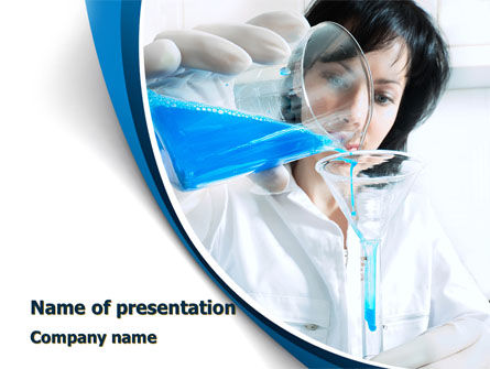 Material Study PowerPoint Template, 10132, Technology and Science — PoweredTemplate.com
