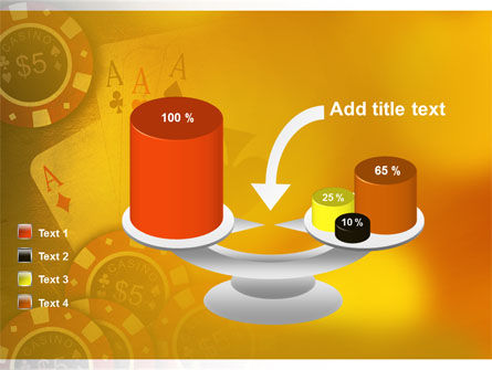 Poker PowerPoint Template Slide 10