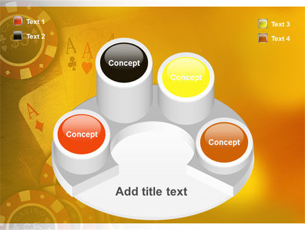 Poker PowerPoint Template Slide 12