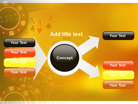 Poker PowerPoint Template Slide 14