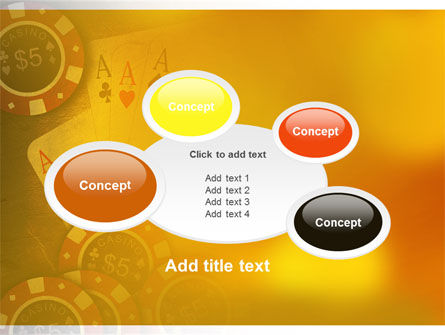 Poker PowerPoint Template Slide 16