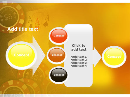 Poker PowerPoint Template Slide 17