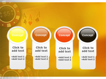 Poker PowerPoint Template Slide 5
