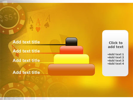 Poker PowerPoint Template Slide 8