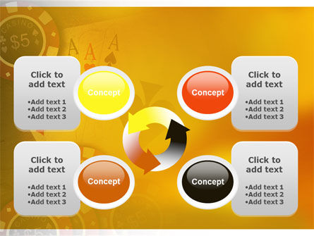 Poker PowerPoint Template Slide 9