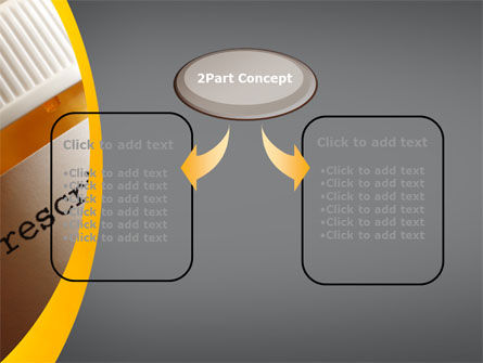 Prescription Pills PowerPoint Template, Slide 4, 10136, Medical — PoweredTemplate.com