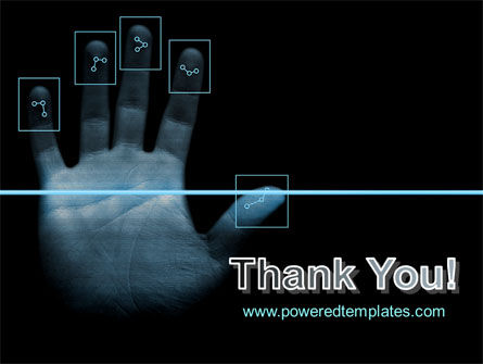 Digital Fingerprinting PowerPoint Template Slide 20