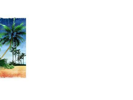 Vacation on Ocean Coast PowerPoint Template, Slide 3, 10139, Nature & Environment — PoweredTemplate.com