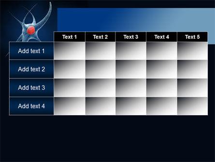 Single Neuron PowerPoint Template Slide 15