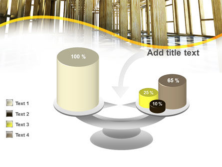 Wooden House Framework PowerPoint Template Slide 10