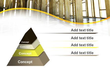 Wooden House Framework PowerPoint Template Slide 12