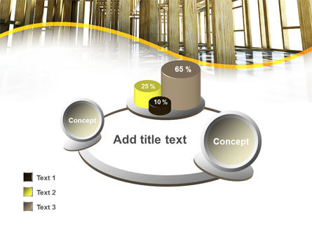 Wooden House Framework PowerPoint Template Slide 16