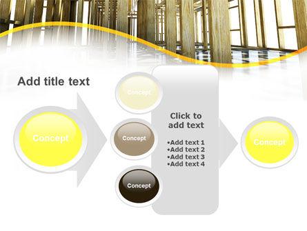 Wooden House Framework PowerPoint Template Slide 17
