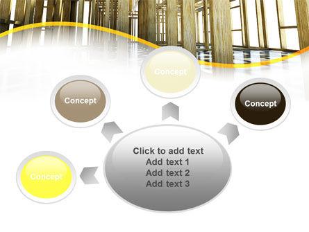 Wooden House Framework PowerPoint Template Slide 7