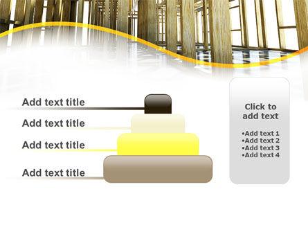 Wooden House Framework PowerPoint Template Slide 8