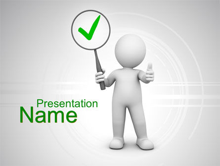 Recommended Stuff PowerPoint Template, 10145, Consulting — PoweredTemplate.com