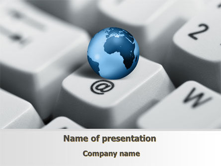 Business Concepts: World eCommerce PowerPoint Template #10146